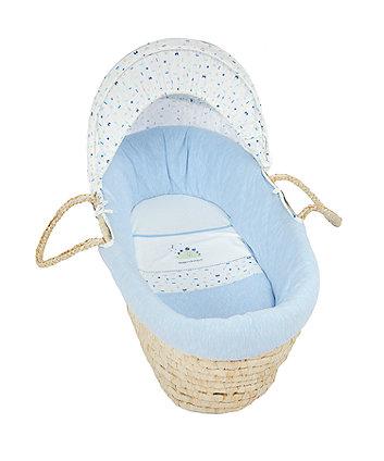 Mothercare Sleepysaurus Moses Basket