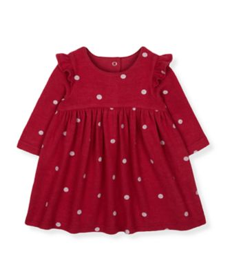 Mothercare Seasons Greetings Spot Frill Dress