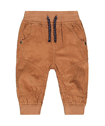 Mothercare Tan Cord Trousers