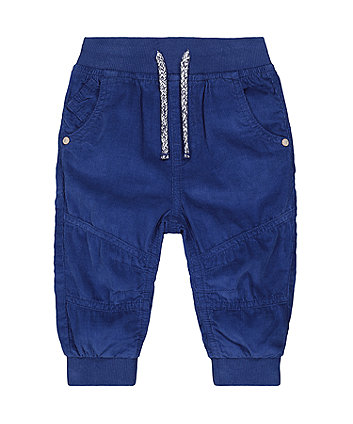 Mothercare Blue Cord Trousers
