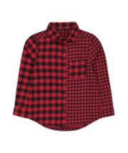 Mothercare Red And Black Check Shirt
