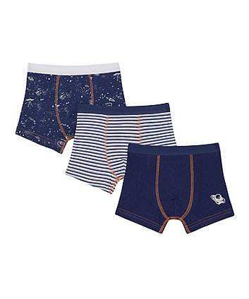 Mothercare Space Trunks - 3 Pack