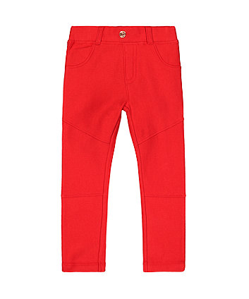 Mothercare Red Jeggings