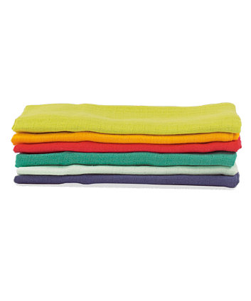 Mothercare Muslin - Multi-Coloured 6 Pack