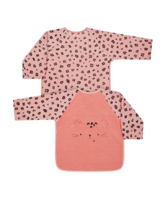 Mothercare Toddler Towelling Coveralls Cat - 2Pack