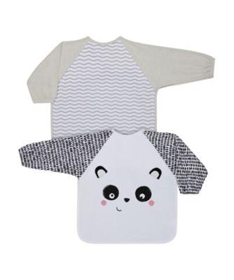 Mothercare Toddler Towelling Bibs Panda - 3 Pack
