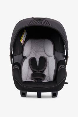 Mothercare Ziba Infant Carrier - Grey and Black
