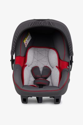 Mothercare Ziba Infant Carrier - Grey and Red