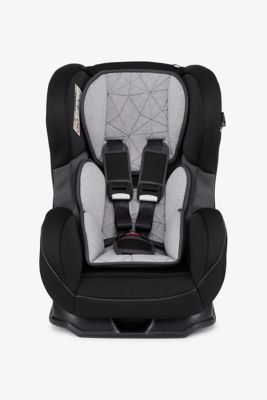 Mothercare Madrid Combination Car Seat - Grey and Black