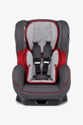 Mothercare Madrid Combination Car Seat - Grey and Red