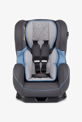 Mothercare Madrid Combination Car Seat - Grey and Blue