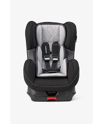 Mothercare Sport Isofix Car Seat - Charcoal Geo