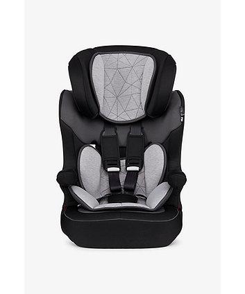 Mothercare Advance Xp Highback Booster Car Seat - Black/Grey
