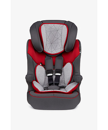 Mothercare Advance Xp Highback Booster Car Seat - Grey And Red