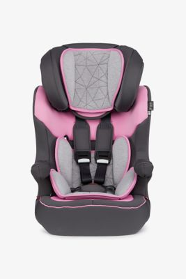 Mothercare Advance XP Car Seat - Grey and Pink