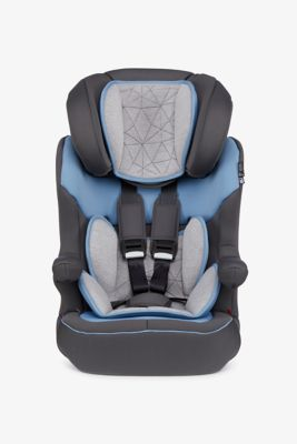 Mothercare Advance XP Car Seat - Grey and Blue