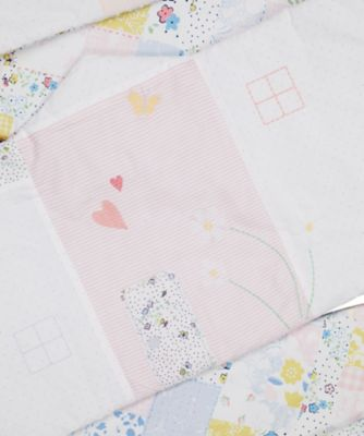 Mothercare Spring Flower Long Bumper