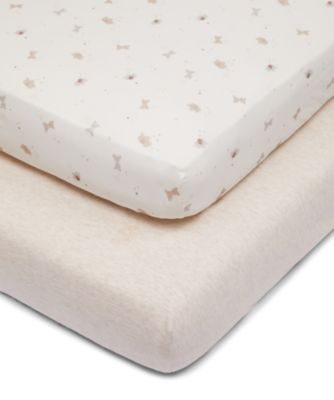 Mothercare Little & Loved Fitted Cot Bed Sheets - 2pk