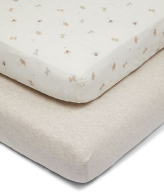 Mothercare Little & Loved Fitted Cot Sheets - 2pk