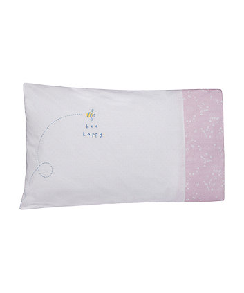 Mothercare Spring Flower Pillowcase