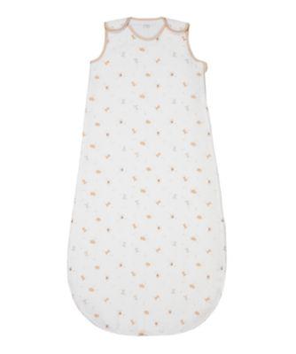 Mothercare Little & Loved Muslin Sleeping Bag 0.5 Tog - 0-6months