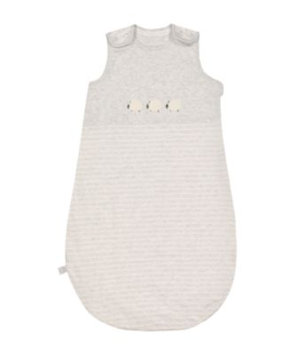 Mothercare Little Lamb Sleeping Bag 1 Tog - 6-18months