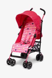 Mothercare Nanu Stroller - Cat Dot Pink