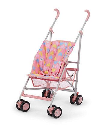 Mothercare Jive Stroller - Pink Hearts