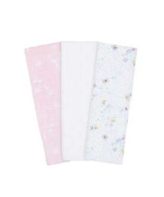 Mothercare Spring Flower Muslins - 3 Pack