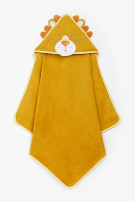 Mothercare Character Cuddle N Dry - Lion