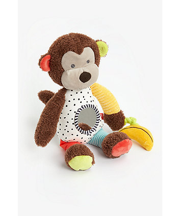 Mothercare Into The Wild Monkey Activity Toy