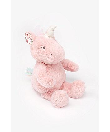 Mothercare Fairy-Tale Plush Unicorn Toy