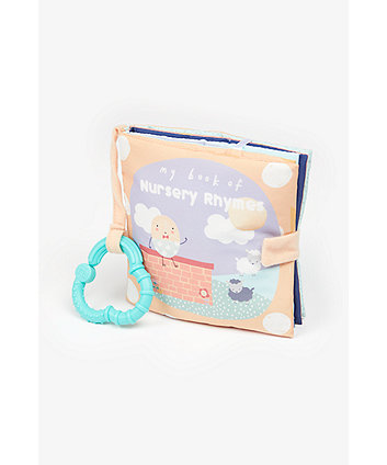 Mothercare Nursery Rhymes Soft Book