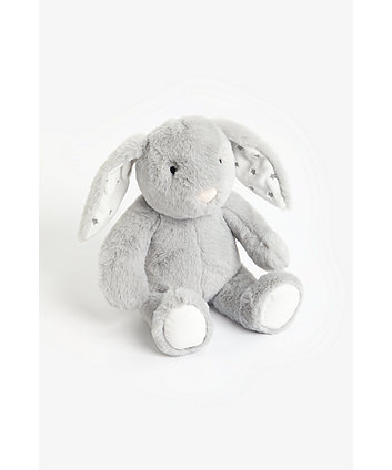 Mothercare Grey Plush Bunny