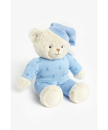 Mothercare Blue Bedtime Bear