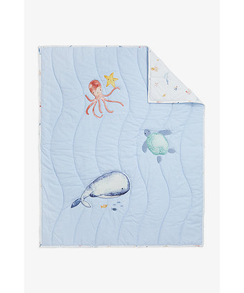 Mothercare You, Me And The Sea Quilt - 4 Tog
