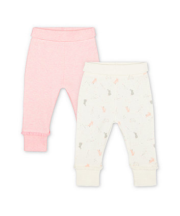 Mothercare My First Bunny Joggers - 2 Pack