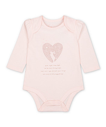 Mothercare My First Good Night, Sleep Tight Bodysuit