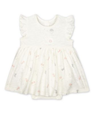 Mothercare My First Little Bunny Short Sleeve Romper Dress