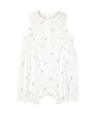 Mothercare My First Little Bunny Sleeveless Romper With Frill
