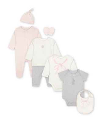 Mothercare My First Little Bunny Eight-Piece Set