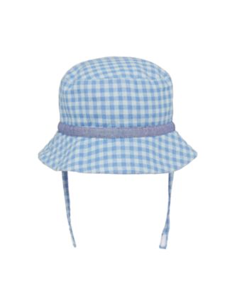 Mothercare My First Safari Check Sun Hat