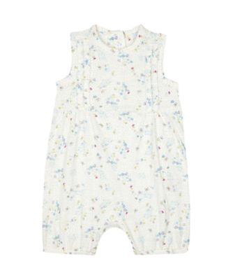 Mothercare Spring Flower White Ditsy Floral Romper