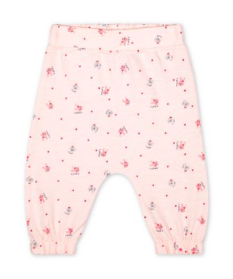 Mothercare Pink Purrfect Pink Cat And Bunny Novelty Joggers