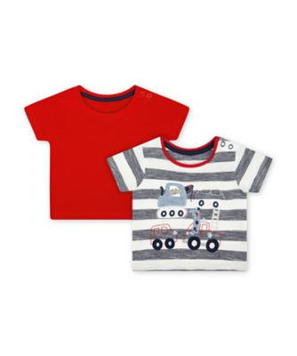 Mothercare Road Trip Short Sleeve T-Shirts - 2 Pack
