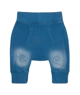 Mothercare Road Trip Blue Vehicle Denim Joggers
