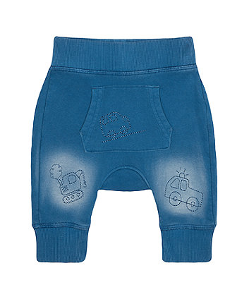 Mothercare Fashion Blue Vehicle Joggers