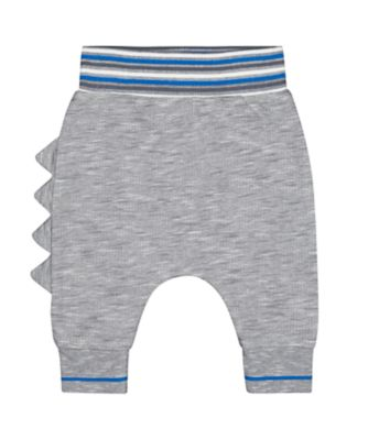 Mothercare A-Roar-Able Blue Dinosaur Roar Joggers