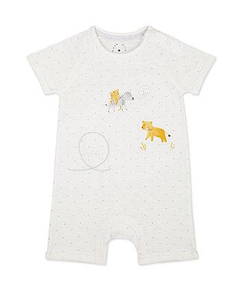 Mothercare Fashion Little Safari Friends Romper