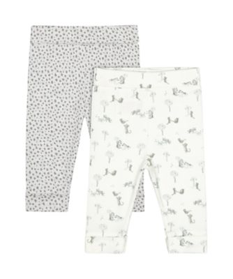 Mothercare Little Leopard Leggings - 2 Pack